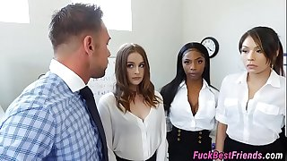 Boss Fucking His Personal Assistants
