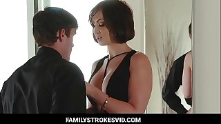 Aunt Kinky seduced his nephew hard ass fucked (pt 1) - Watch Part 2 visit Familystrokesvid.com