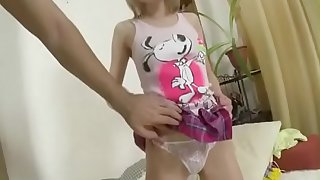 Blonde Russian Teen Extreme Anal invasion