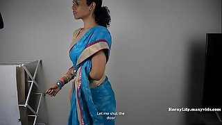 South Indian Mom Lets Her Son Jerk Off Then Fuck Her (Tamil)
