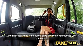 Fake Taxi Naughty deepthroat and busty anal fuck reward for driver