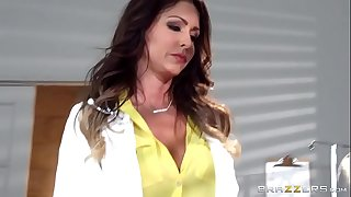 SEEMORE: http://goo.gl/97RFKO - Hot Doctor Jessica Jaymes Milks
